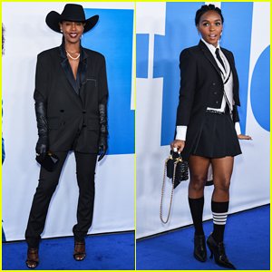 Kelly Rowland & Janelle Monae Support 'Little' Cast at L.A Premiere!