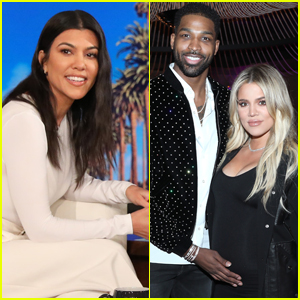 Kourtney Kardashian Provides Update on Khloe's Relationship with Tristan Thompson - Watch Now