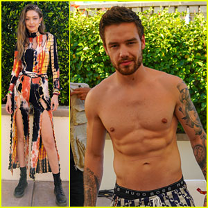 Liam Payne Shows Off Ripped Shirtless Body at Coachella Party with Gigi Hadid