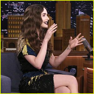 Lily Collins Says Her Family Fell for Her Pregnancy Prank - Watch!