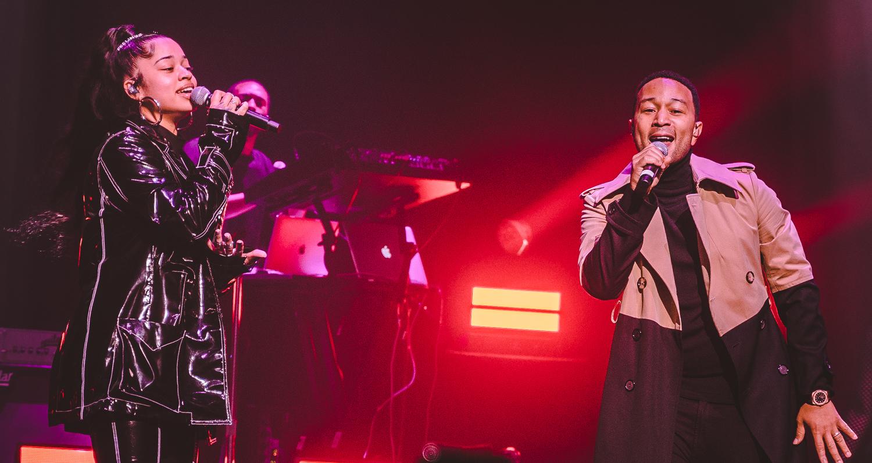 John Legend Surprises Ella Mai's Fans At L.A. Concert ...