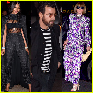Naomi Campbell, Justin Theroux & Anna Wintour Attend Marc Jacobs' Wedding!