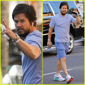 Mark Wahlberg Keeps It Casual at a Doctor's Appointment in Beverly Hills