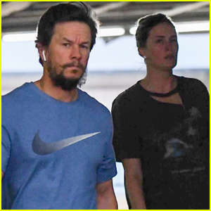 Mark Wahlberg Heads to a Doctors Appointment with Wife Rhea