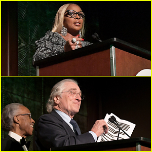 Mary J. Blige & Robert De Niro Get Honored at NAN's Keepers Of The Dream Gala!