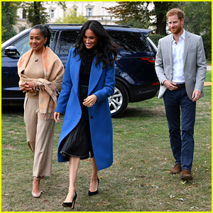 Meghan Markle's Mom Doria Arrives in London Ahead of Royal Birth!