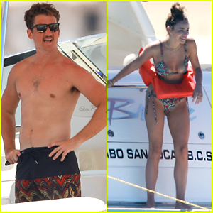 Miles Teller & Keleigh Sperry Vacation Together in Cabo San Lucas