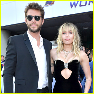 Miley Cyrus & Liam Hemsworth Couple Up for 'Avengers: Endgame' World Premiere