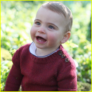 Prince Louis is All Smiles in First Birthday Portraits Taken by Mom Kate Middleton!