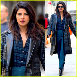 Priyanka Chopra Heads to a Meeting After Night Out with Jonas Brothers!