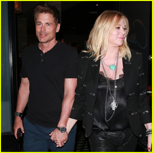 Rob Lowe & Wife Sheryl Berkoff Grab Dinner at Craig's!