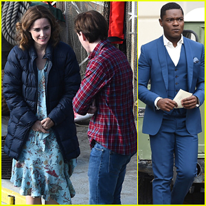 Rose Byrne, David Oyelowo, & Domhnall Gleeson Spotted Filming 'Peter Rabbit 2' in London!