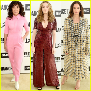 Sandra Oh, Jodie Comer, & Ruth Wilson Promote Their Shows at AMC Network Summit