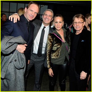 Sarah Jessica Parker Reunites with 'Sex and the City's Mikhail Baryshnikov at 'The White Crow' Premiere!