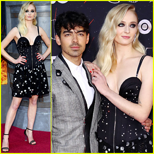 Sophie Turner Gets Support From Joe Jonas at 'Game of Thrones' Season 8 Premiere