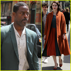 Sterling K. Brown Begins Filming 'Marvelous Mrs. Maisel' with Rachel Brosnahan!