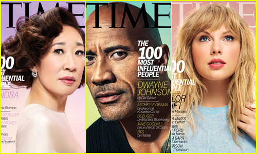 Time's 100 Most Influential People of 2019: Sandra Oh, The Rock, Taylor Swift & More!