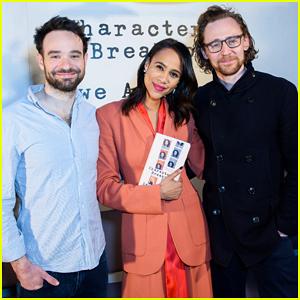 Tom Hiddleston Supports 'Betrayal' Co-Star Zawe Ashton at Book Launch!