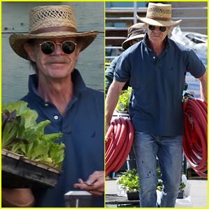 William H. Macy Stops to Smell the Roses as Wife Felicity Huffman Awaits Plea Hearing