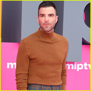 Zachary Quinto Promotes 'NOS4A2' in Cannes