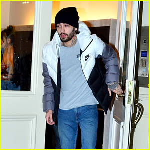 Zayn Malik Heads Out for the Night in New York City