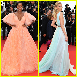 Aja Naomi King Stuns at 'A Hidden Life' Cannes Film Festival Premiere!