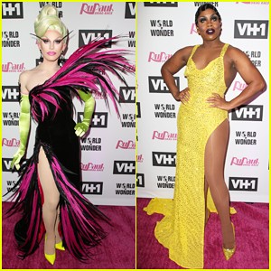 Aquaria & Monét X Change Hit Carpet at 'RuPaul's Drag Race' Season 11 Finale Taping!