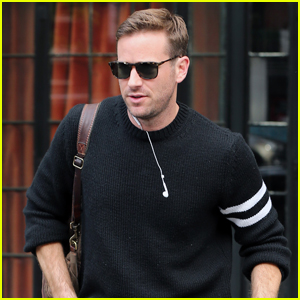 Armie Hammer Steps Out to Run Errands in NYC