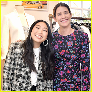 Awkwafina & Cobie Smulders Step Out in Style for Veronica Beard Store Opening