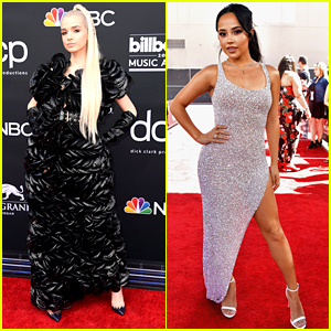 Singers Poppy & Becky G Hit The Red Carpet at Billboard Music Awards 2019