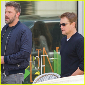 Ben Affleck & Matt Damon Take Their Moms Out for Mother's Day!