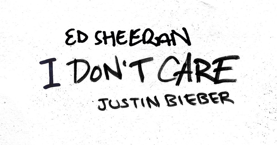 Justin Bieber & Ed Sheeran: 'I Don't Care' Stream, Lyrics