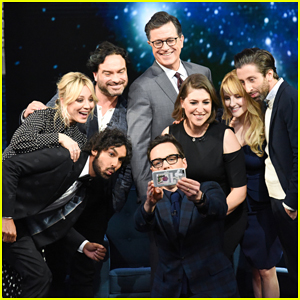 'Big Bang Theory' Cast Share Behind-the-Scenes Stories on 'Late Show' Following Series Finale!