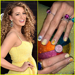 Blake Lively Calls Herself 'PokeMOM,' Shows Off Pikachu Nails