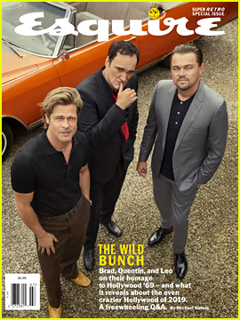 Leonardo DiCaprio & Brad Pitt Open Up About Working Together & Finding Their Way in Hollywood