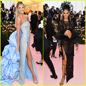 Candice Swanepoel & Joan Smalls Look So Hot at Met Gala 2019!