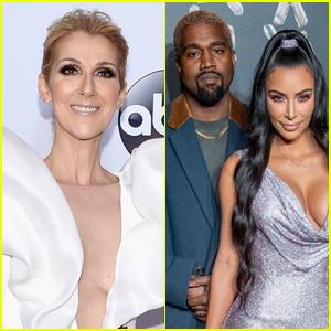 Celine Dion Pens Sweet Anniversary Note to Kim Kardashian & Kanye West