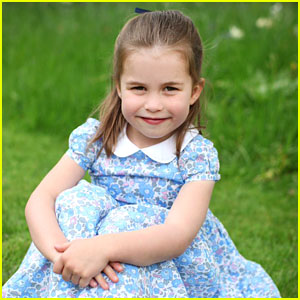 Prince William & Kate Middleton Share Adorable Pictures of Princess Charlotte Ahead of Her 4th Birthday!