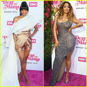 Ciara & La La Anthony Hit Carpet at VH1's Dear Mama 2019!