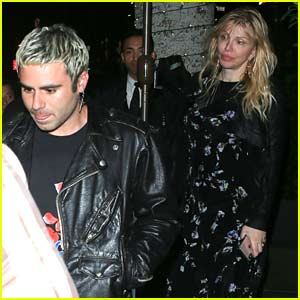 Courtney Love Has Dinner with Demi Lovato's Ex Henry Levy