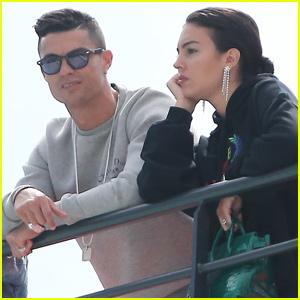 1c28a431019 Cristiano Ronaldo   Georgina Rodriguez Enjoy Monaco Grand Prix Together