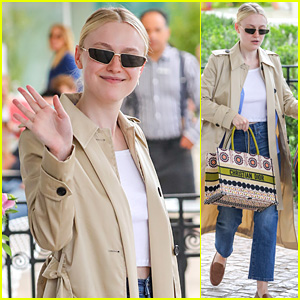 31a3459d64336b Dakota Fanning Wore The Dress of Her Dreams To Cannes