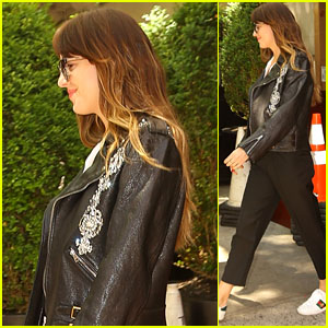 Dakota Johnson Heads Out in NYC After Attending Met Gala 2019