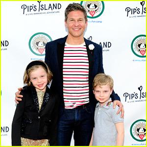 David Burtka Brings the Kids to 'Pip's Island' Opening!