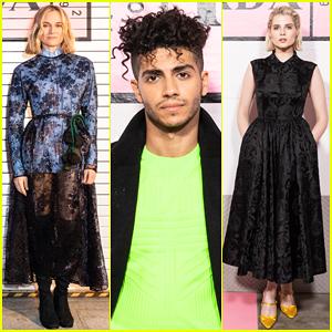 Diane Kruger, Lucy Boynton & More Step Out for Prada Resort Fashion Show!