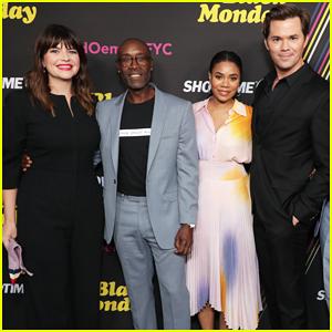 Don Cheadle, Regina Hall & Andrew Rannells Celebrate 'Black Monday' Season Two Renewal!