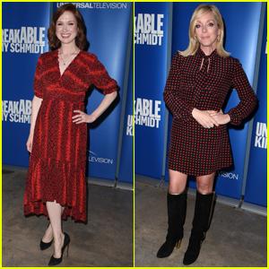 Ellie Kemper & Jane Krakowski Attend 'Unbreakable Kimmy Schmidt' FYC Event!