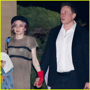 Elon Musk & Grimes Couple Up for Date Night in Malibu!