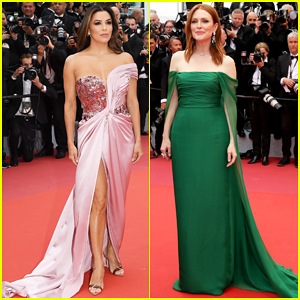 Eva Longoria & Julianne Moore Stun at 'The Dead Don't Die' Cannes Premiere!