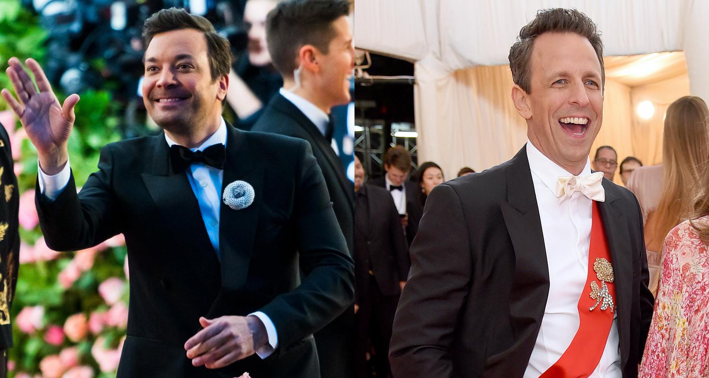 Jimmy Fallon Joins Fellow Talk Show Hosts at Met Gala 2019